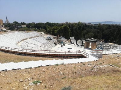 Ancient theater in Syracuse