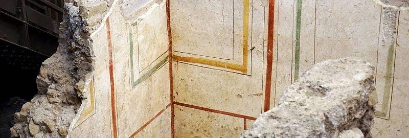 Ściana domu Aufidii Valentilli