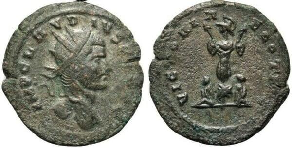 Coin of Claudius II Gothicus