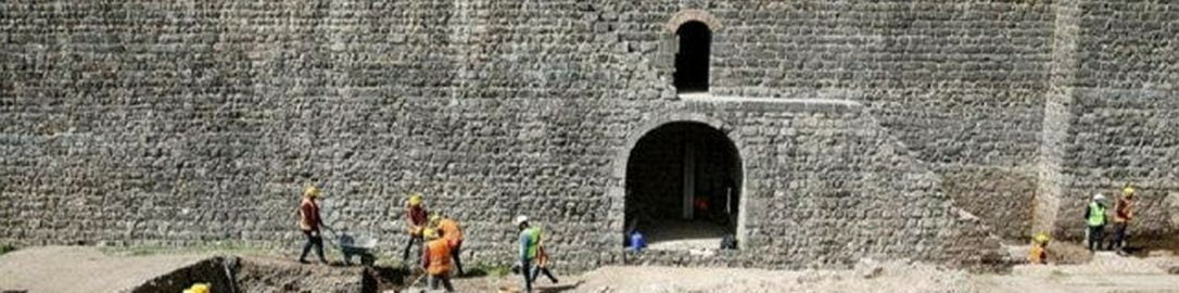 Roman road was discovered in southern Turkey