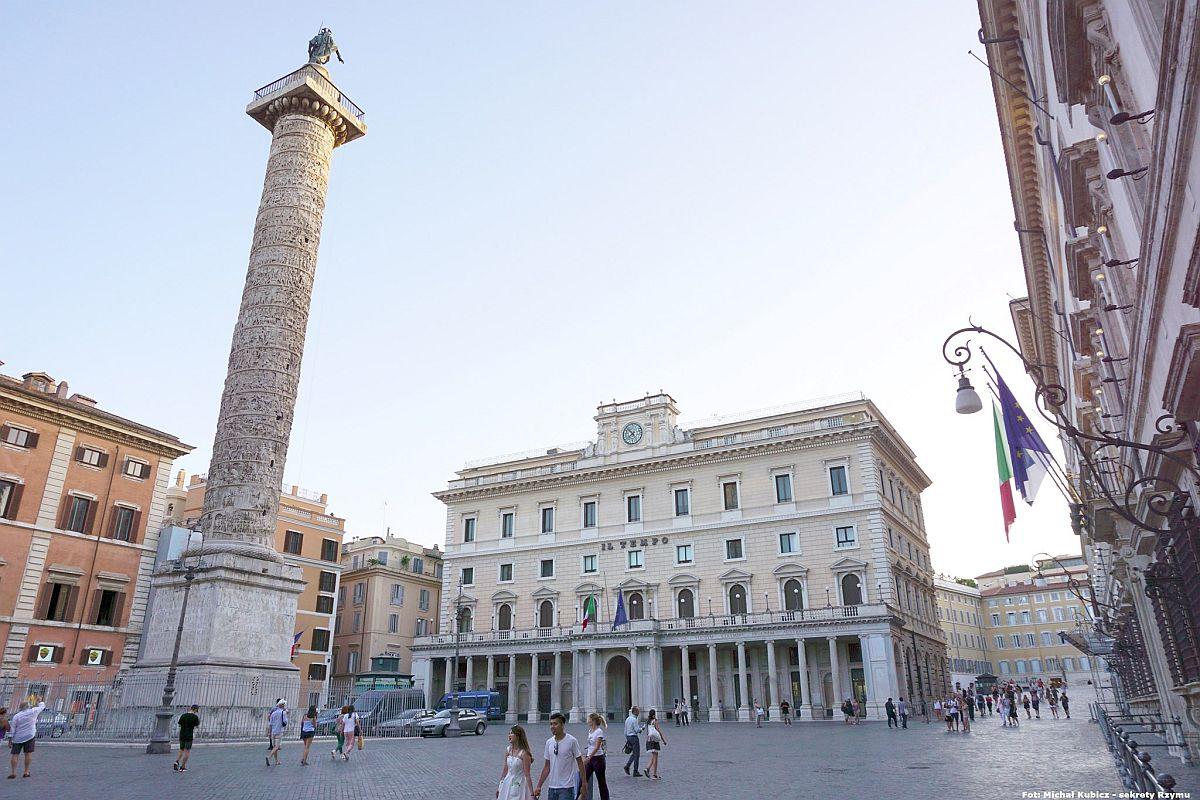 Piazza Colonna w Rzymie