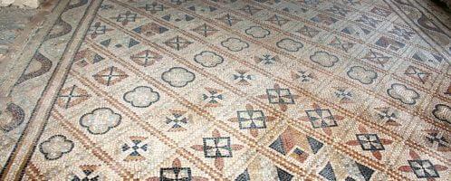Beautiful Roman mosaic from France