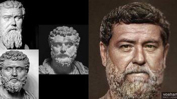 Reconstruction of image of Didius Julianus