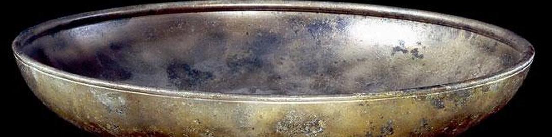 Rzymska miska z brązu