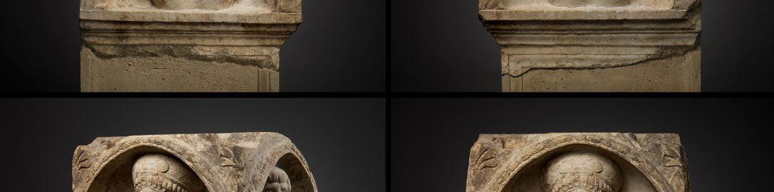 Rzymski fronton ołtarza grobowego