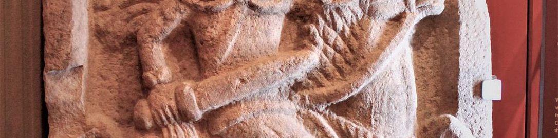 Roman tombstone of cavalaryman