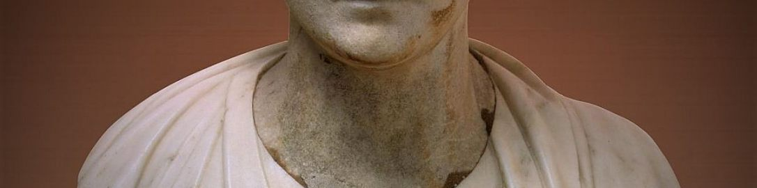 Roman bust of elegant woman
