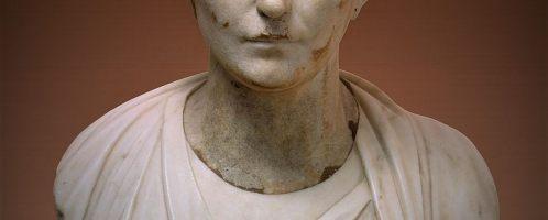 Roman bust of elegant woman