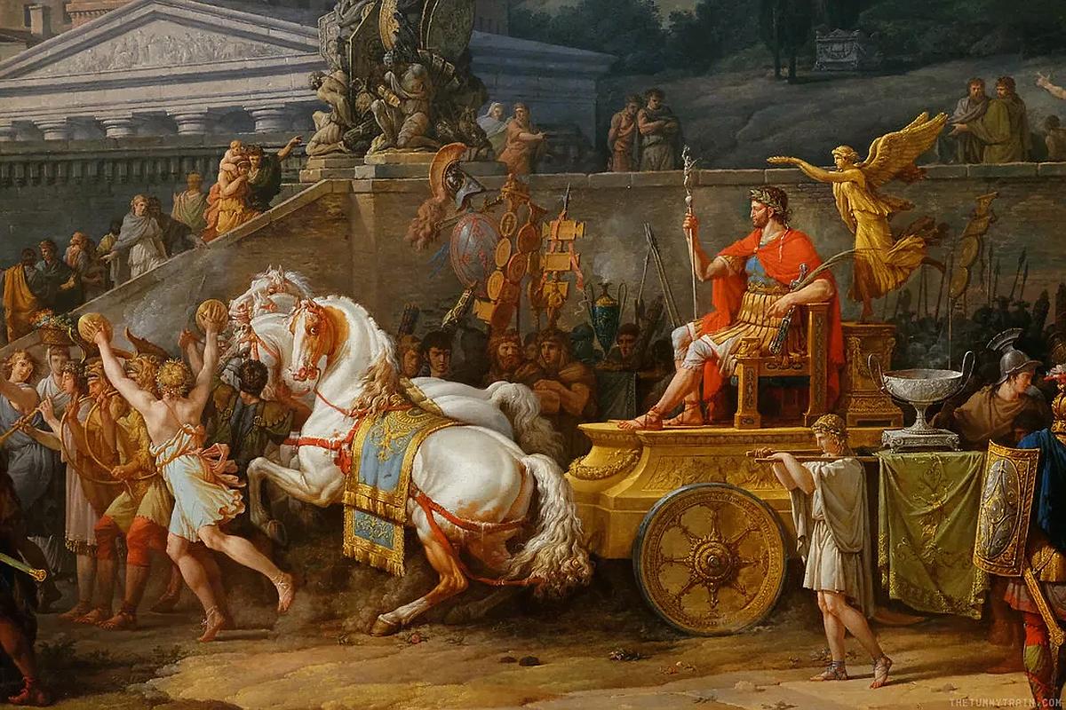 Carle Vernet, Paulus's Triumph