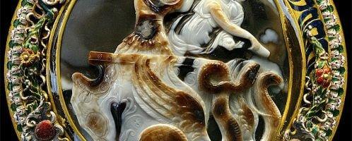 Kamea ukazująca Klaudiusza i jego żonę na rydwanie