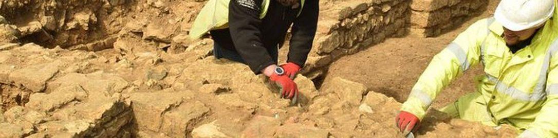 Pozostałości nietypowej rzymskiej budowli w Eastfield (północna Anglia)