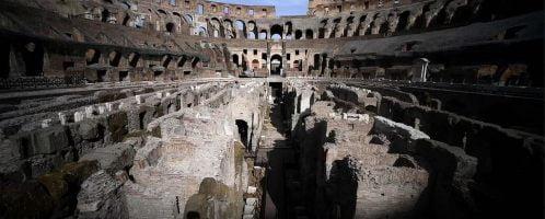 Koloseum w środku