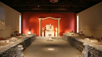 Renovated temple dedicated to Mithra
