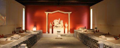 Odrestaurowane Mitreum w Aquincum