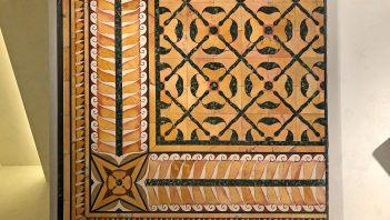 Beautiful Roman marble floor