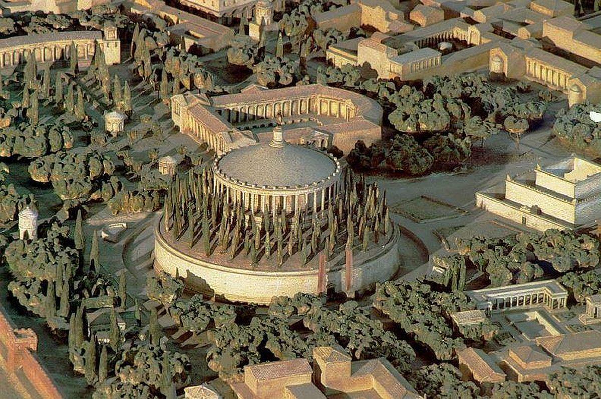 Reconstruction of the Mausoleum of Augustus