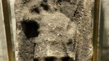 Rzymska płaskorzeźba z zamku Sudeley