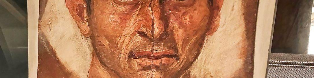 Roman portrait of man on mummy