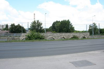 Ulica obok Parku Archeologicznego
