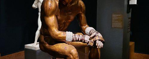 Rekonstrukcja rzeźby boksera