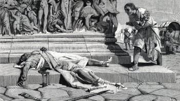 Klodiusz, iustitium i trzęsienie ziemi