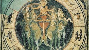 Mozaika rzymska przedstawiająca boga Sola