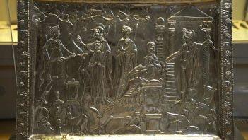 Rzymska srebrna taca