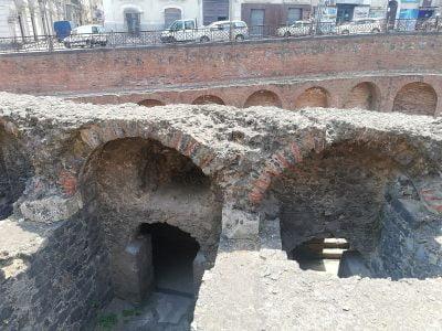 Roman amphitheater in Catania