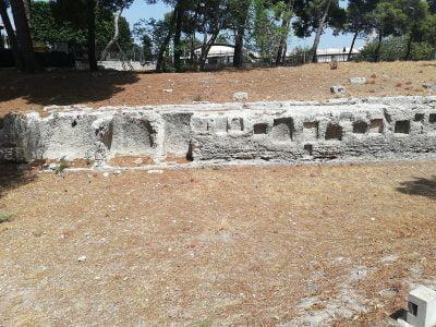 Nisze przy amfiteatrze w Syrakuzach