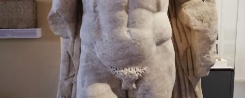Sculpture of Roman general