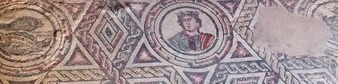 Roman mosaic from Villa Romana del Casale