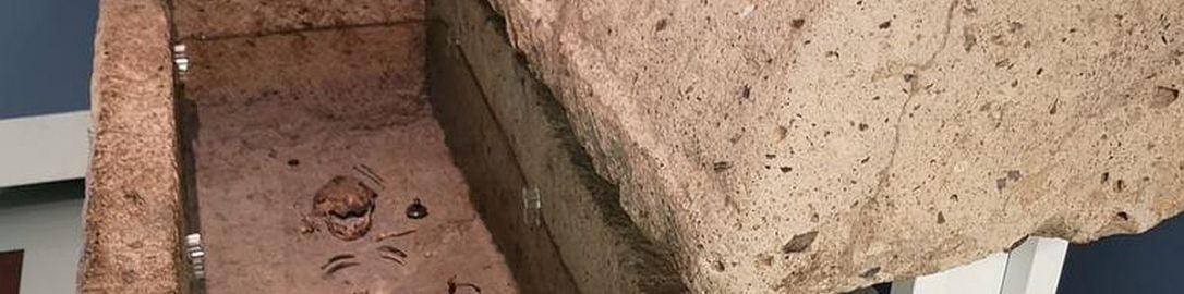 Rzymski sarkofag 10 letniej dziewczynki