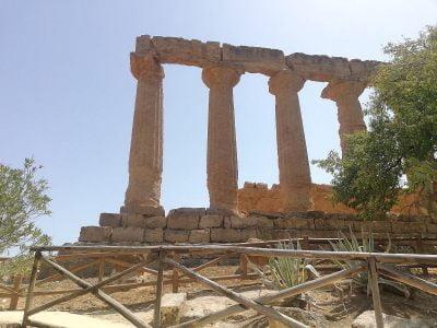 Temple of Juno Lacinia in Agrigento