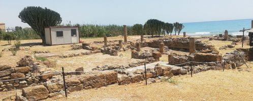 Willa rzymska na południu Sycylii