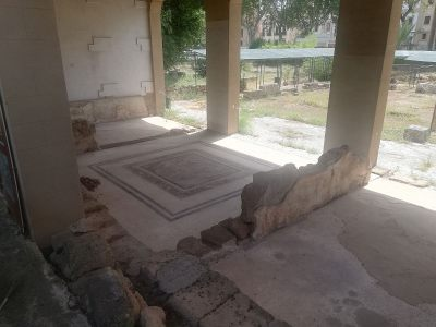 Mozaika podłogowa w Resti di Villa Romana w Palermo