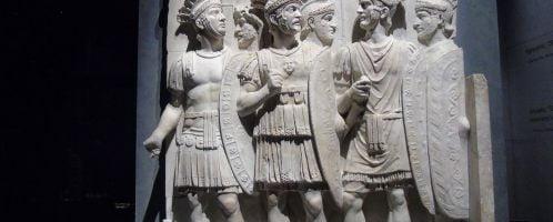 Relief showing praetorians
