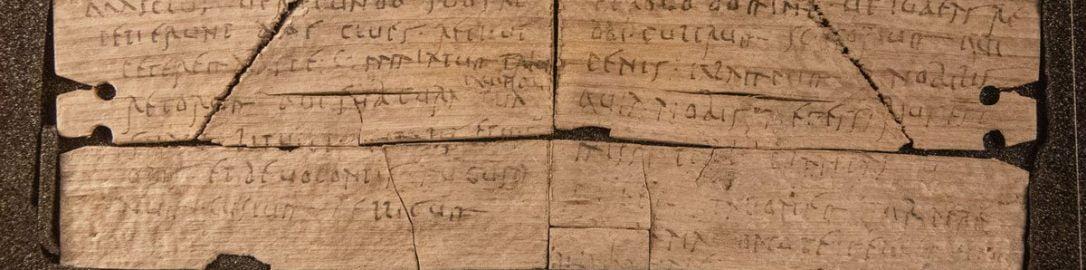 Rzymska drewniana tabliczka z Vindolandy (nr 892)