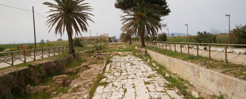 Rzymska droga w Marsali