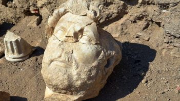 Odkryto posąg Hadriana w Turcji