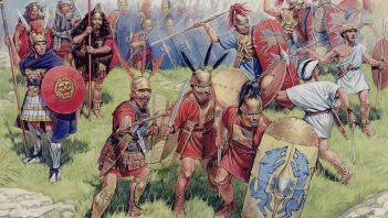 Bohaterskie zdobycie kartagińskiego obozu pod Beneventum