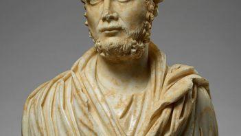Popiersie ukazujące Rzymianina z okresu rządów Karakalli
