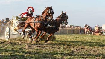 W starożytności niezwykle doceniano umiejętności koni