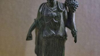 Rzymska figurka ukazująca potrójne bóstwo
