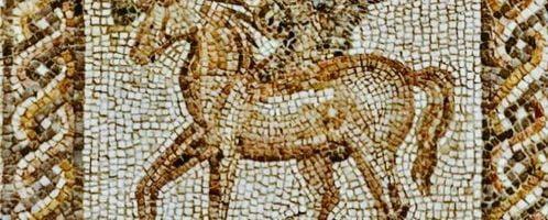 Rzymska mozaika przedstawiająca Pegaza