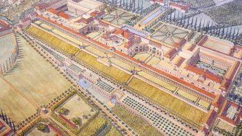 Wizualizacja Złotego Domu Nerona